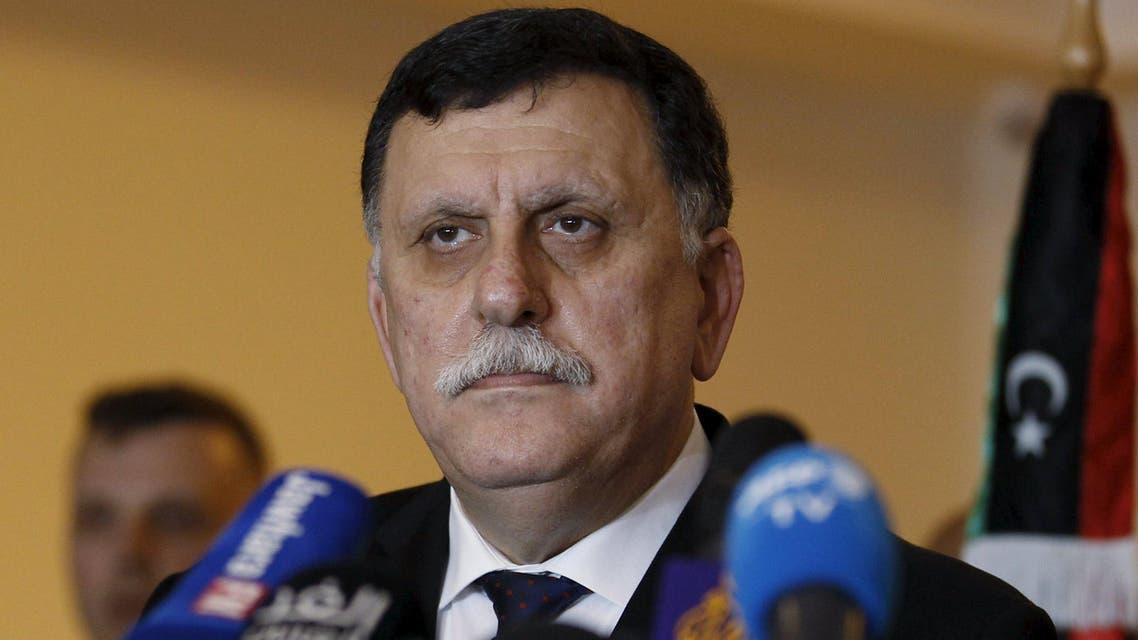 رئيس الوزراء المكلّف بتشكيل حكومة الوفاق الليبية فايز السراج