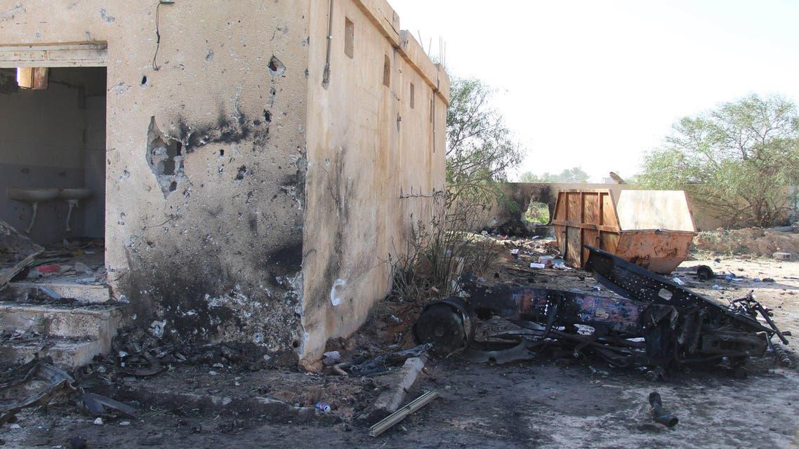 هجوم على مركز تدريب لل الشرطة في ليبيا