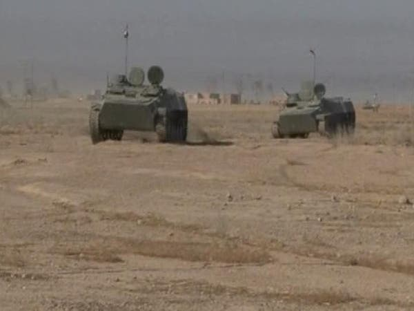 القنابل تعرقل تقدم  القوات العراقية في الرمادي