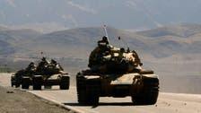Turkish military strikes ISIS, PKK targets