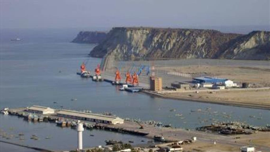 A general view of Pakistan's Gwadar deep-sea port on the Arabian Sea March 19, 2007. reuters