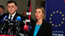 EU pledges 100 million euros to aid Libya's unity government