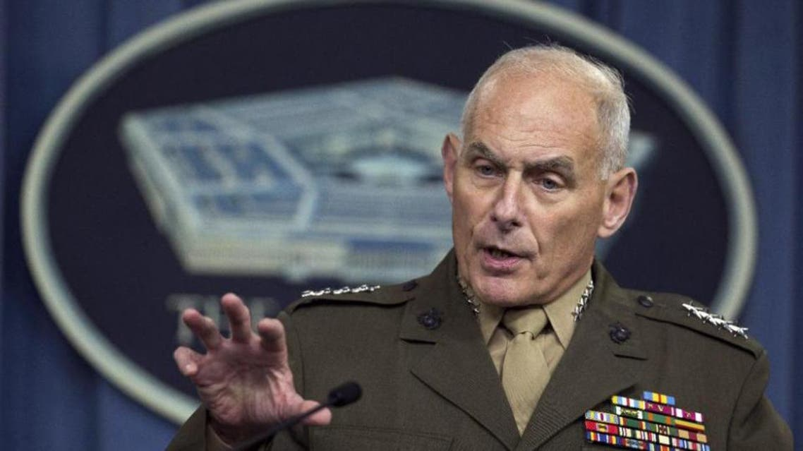 U.S. Southern Command Commander Gen. John Kelly speaks to reporters during a briefing at the Pentagon, Friday, Jan. 8, 2016. (AP)
