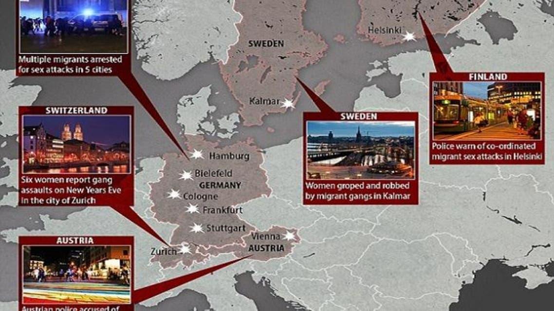 تحرش للاجئين