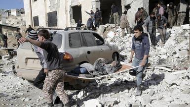 الأسد يفاوض في جنيف ويقصف غوطة دمشق بالغاز السام