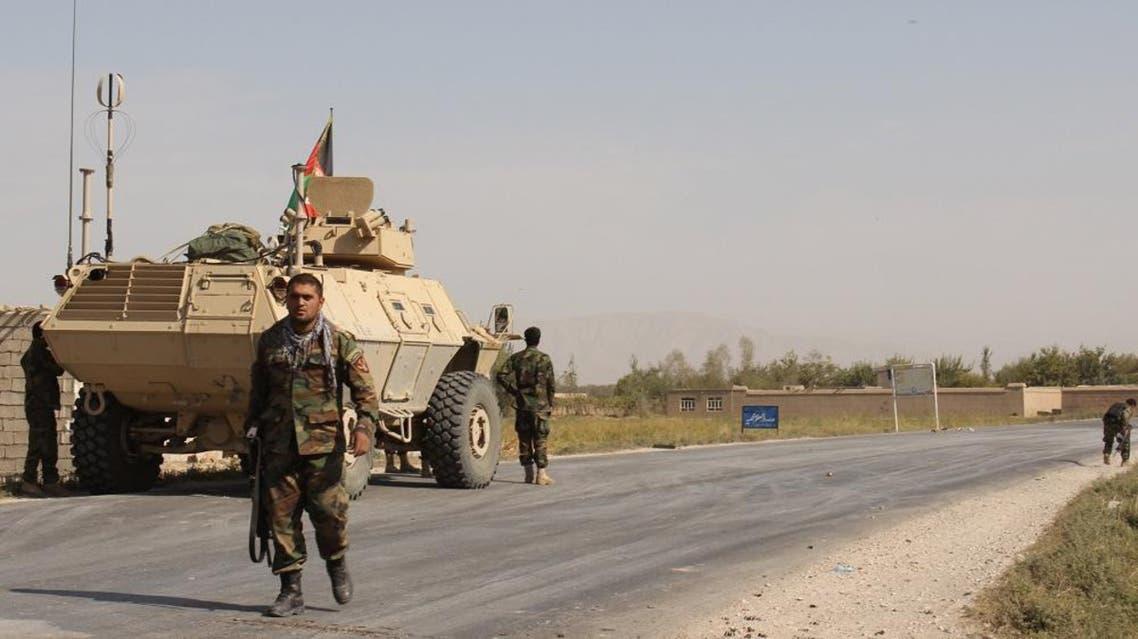 Afghan security forces (AP)