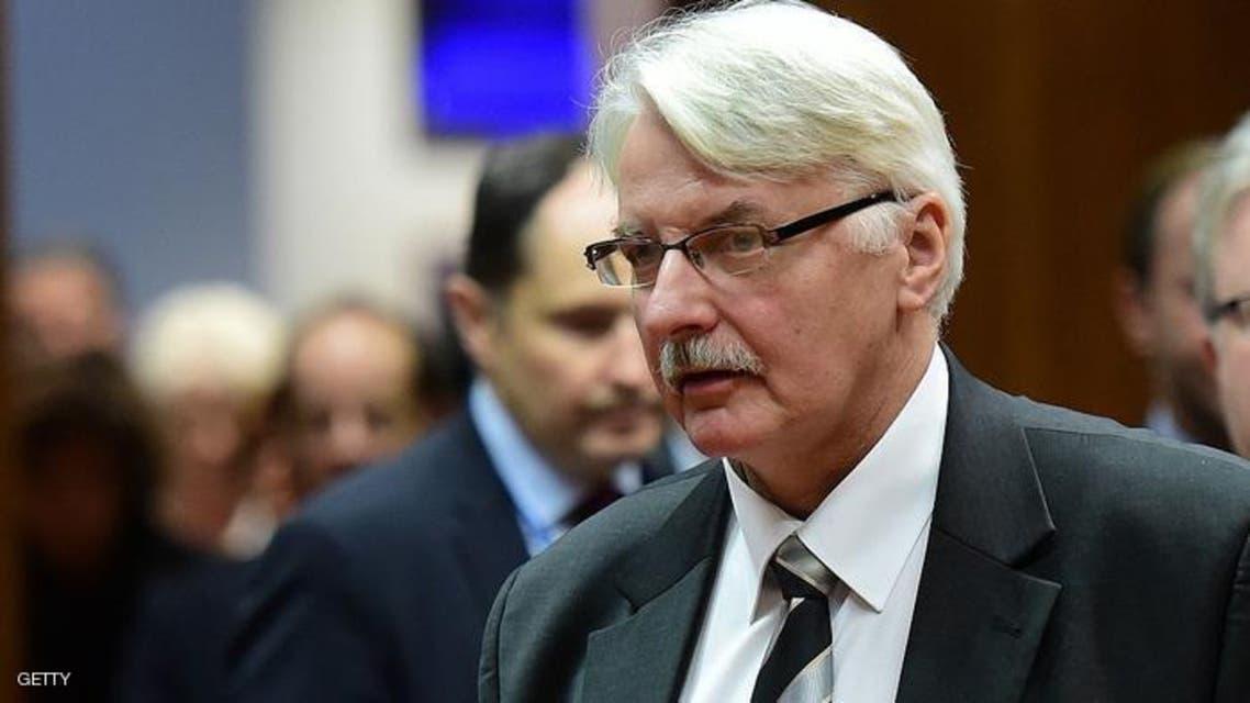 وزير خارجية بولندا فيتود فاشتشوفسكي