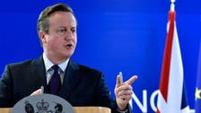 UK's Cameron taunted after opposition Twitter feed hacked