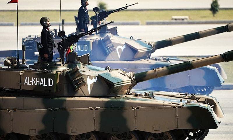 دبابة الخالد