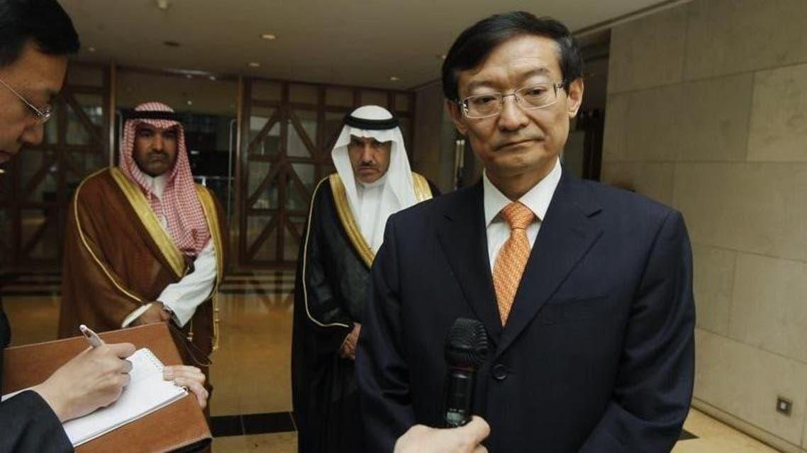 China's Foreign Ministry said Vice Foreign Minister Zhang Ming met senior Saudi and Iranian officials on his trip. (File photo: Reuters)