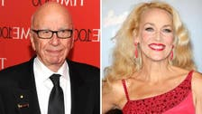 Media mogul Murdoch announces engagement to actress Jerry Hall