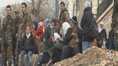 سوريا.. إجلاء 500 شخص من المناطق المحاصرة