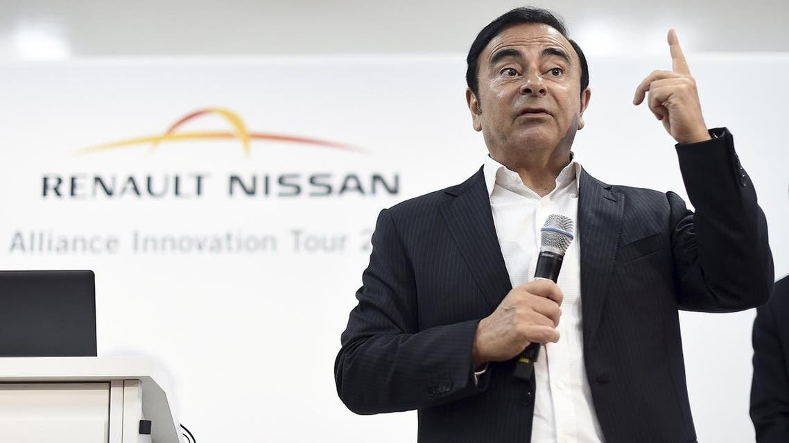 Carlos Ghosn, Renault-Nissan Alliance chairman and CEO, discusses the future autonomous vehicles in Sunnyvale. (Reuters)