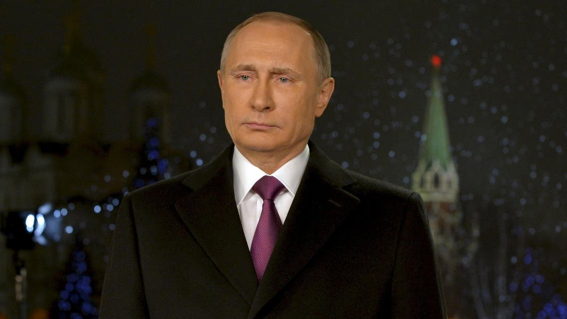 Russian President Putin delivers his annual New Year address to nation in Moscow. (File photo: Reuters)