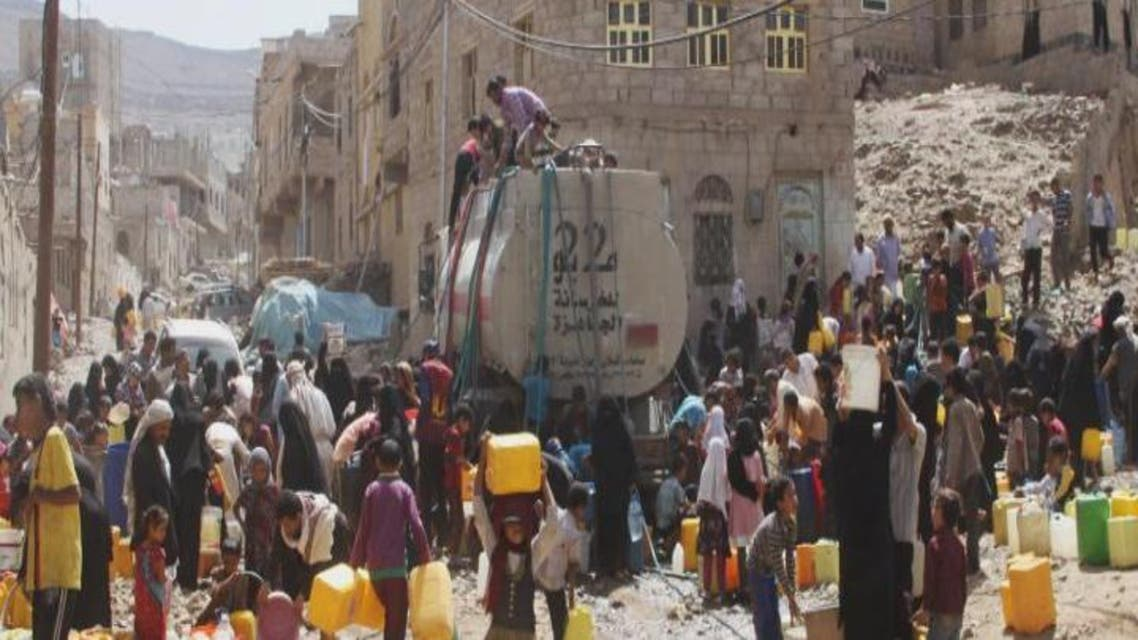 THUMBNAIL_ التحالف يسقط 40 طن مساعدات لمحاصري تعز