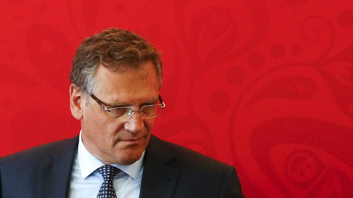 Valcke was once one of the most powerful men in FIFA and responsible for ensuring that preparations for the last two World Cups. (File photo: Reuters)
