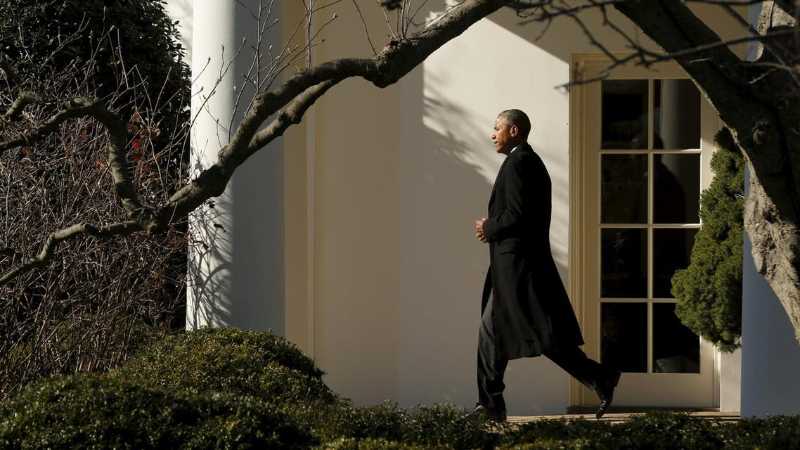 U.S. President Barack Obama departs for travel to Nebraska from the South Lawn of the White House in Washington January 13, 2016. (Reuters)