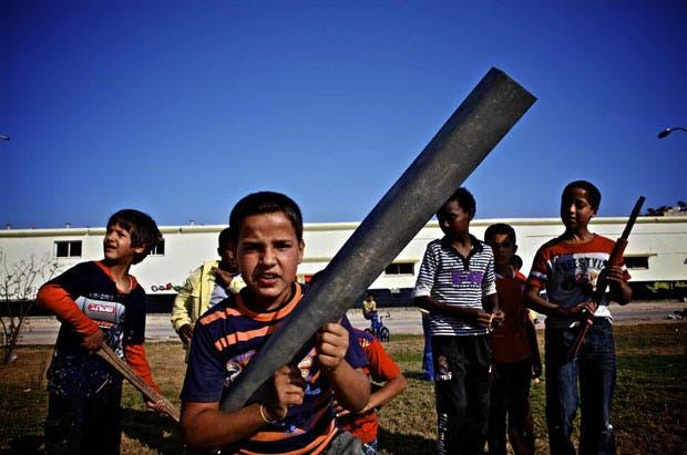 تجنيد أطفال في ليبيا
