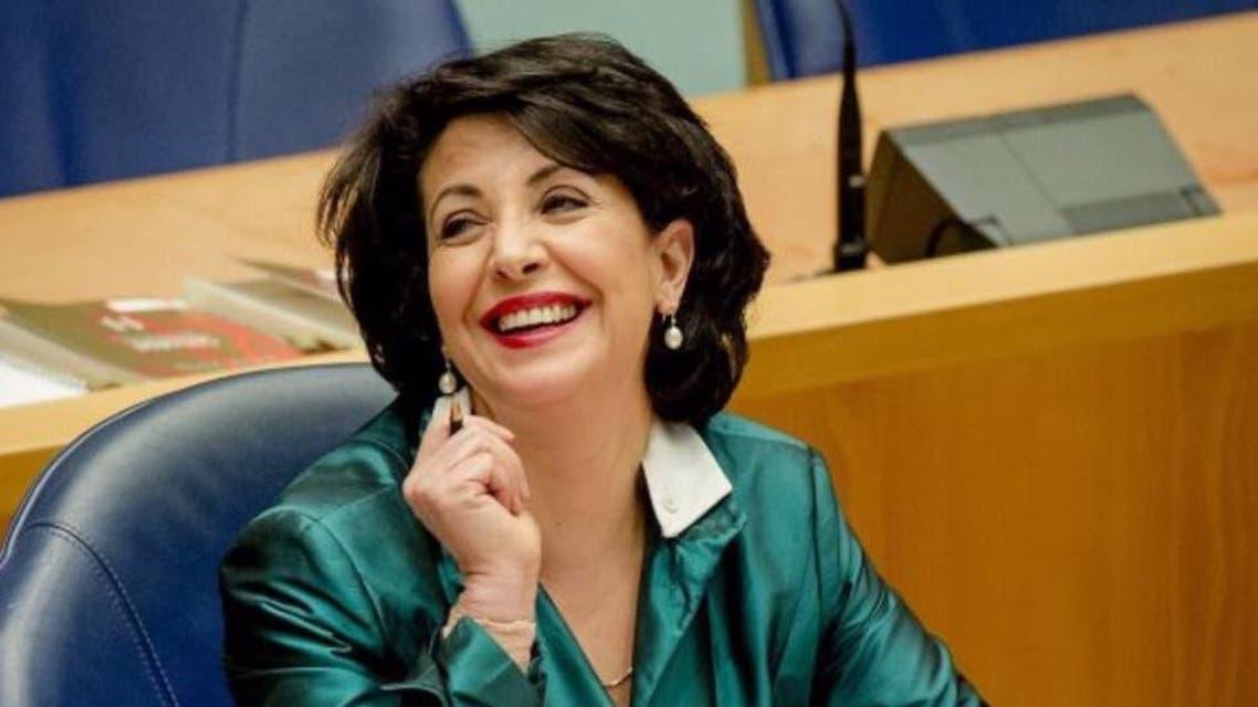 خديجة عريب، هولندية من أصول مغربية، تتصدر العناوين البارزة في هولندا