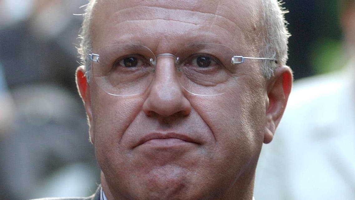 This picture taken in June 2003 shows former Lebanese Information Minister Michel Samaha (AP)