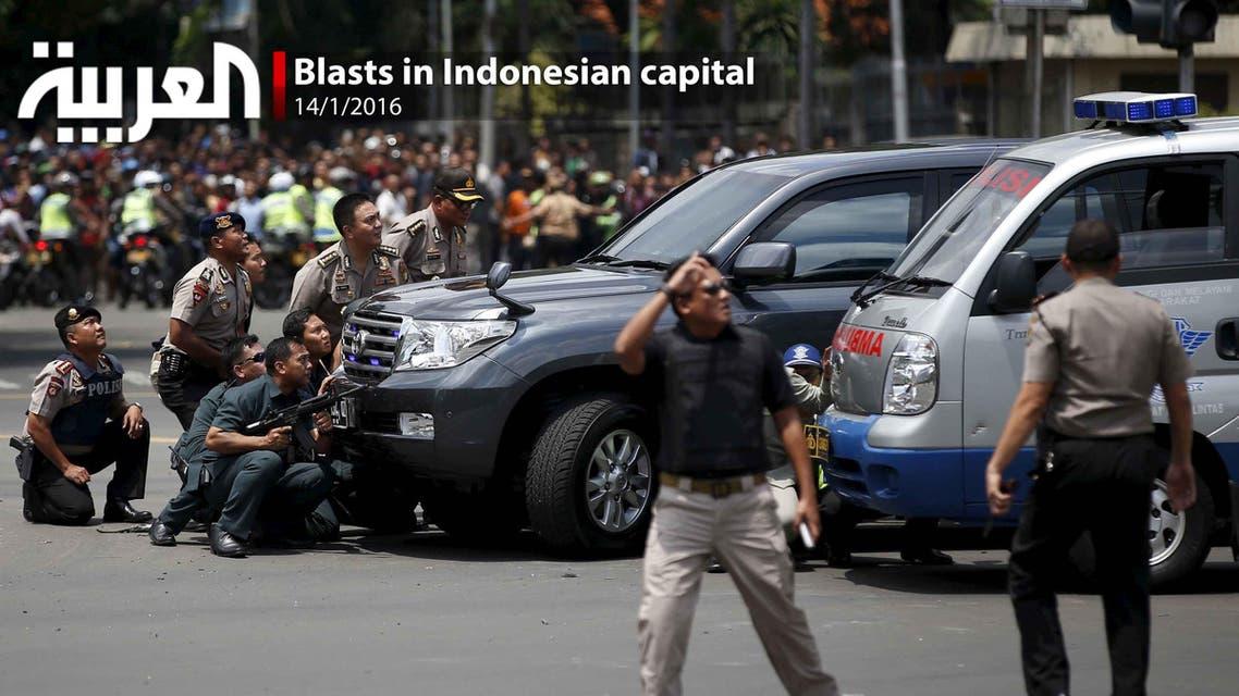 Blasts in Indonesian capital