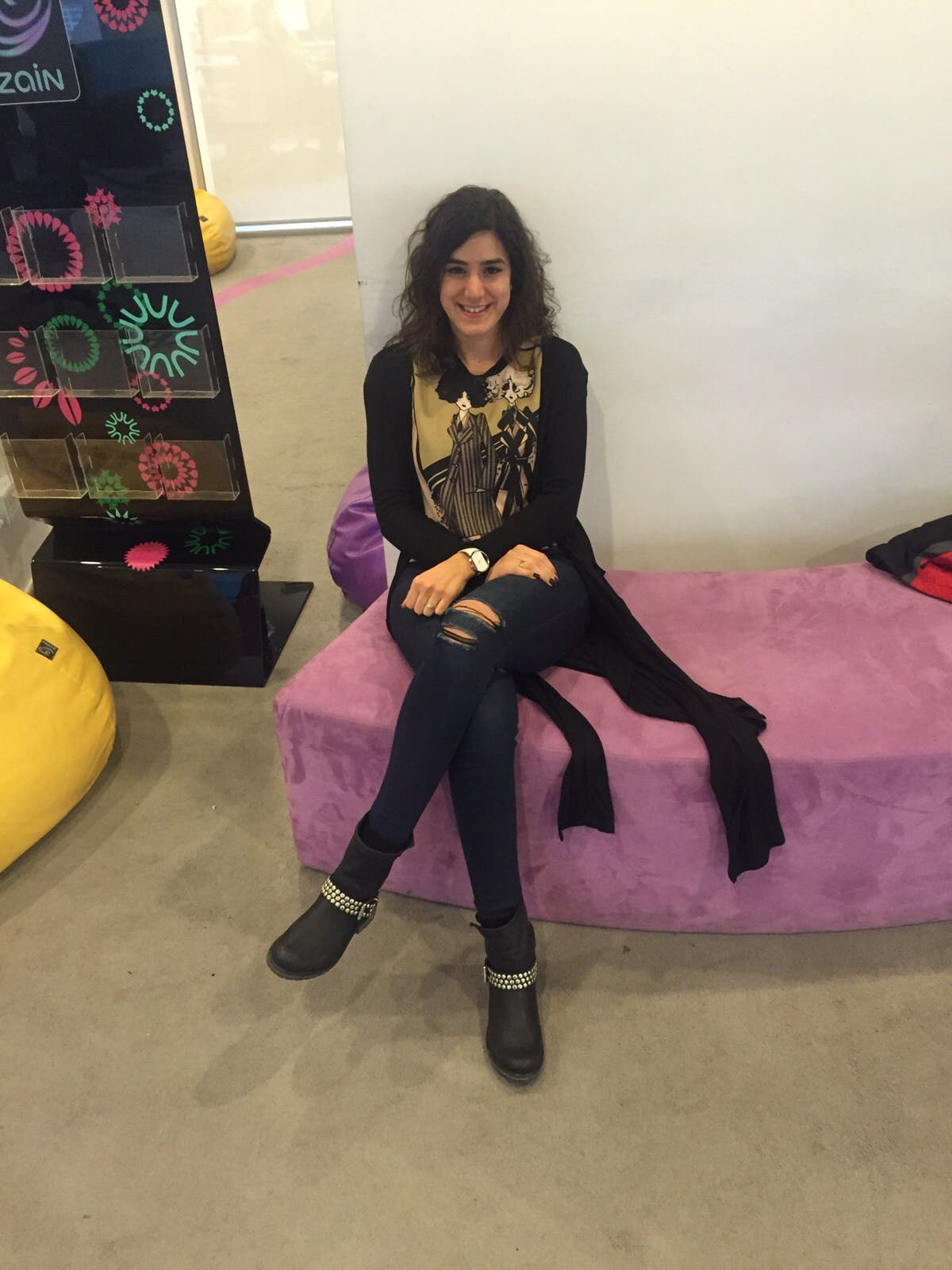 Hiba Zabaneh  (Photo: Leen Hajjar)