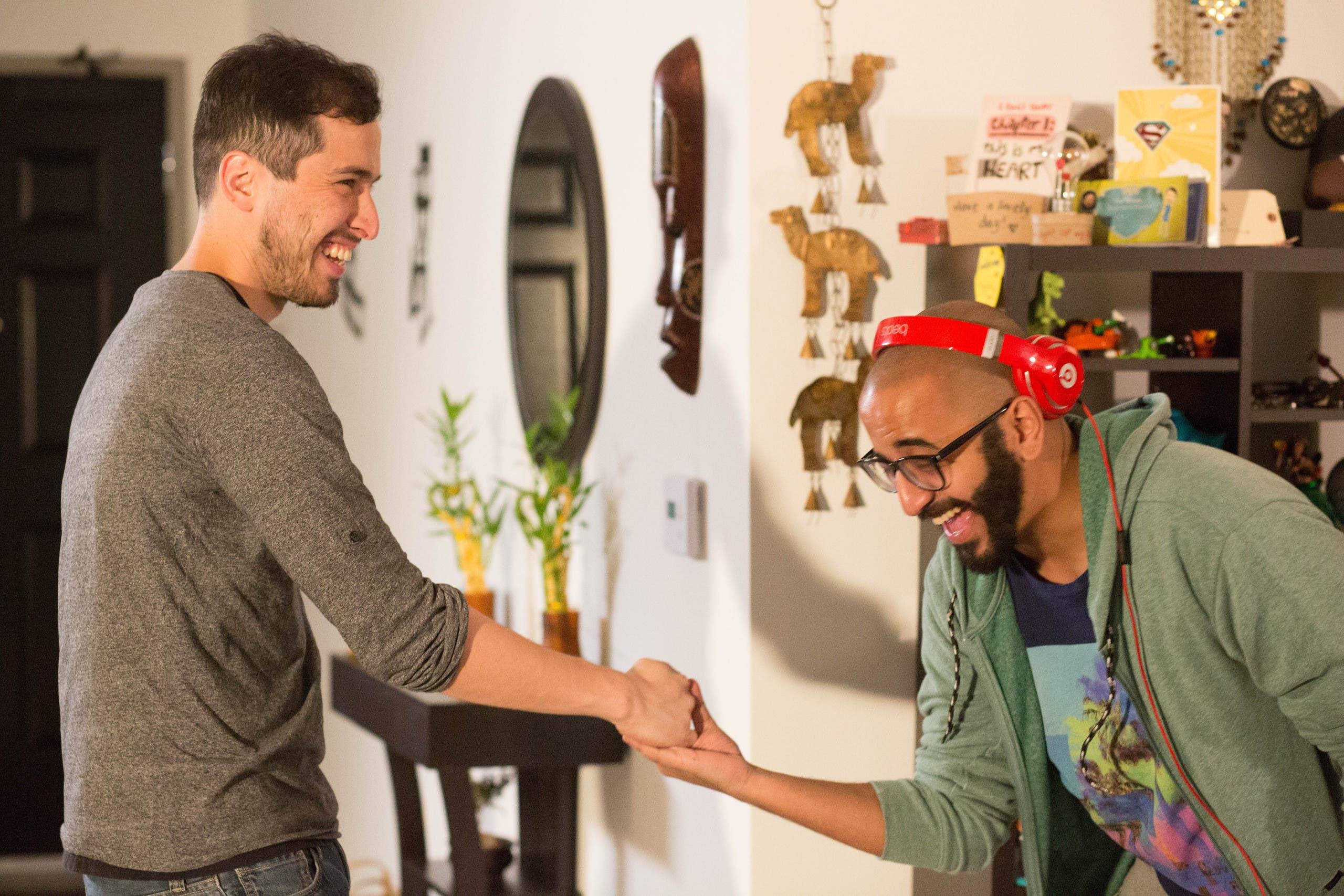 محمد علاوي والمخرج ايمن خوج