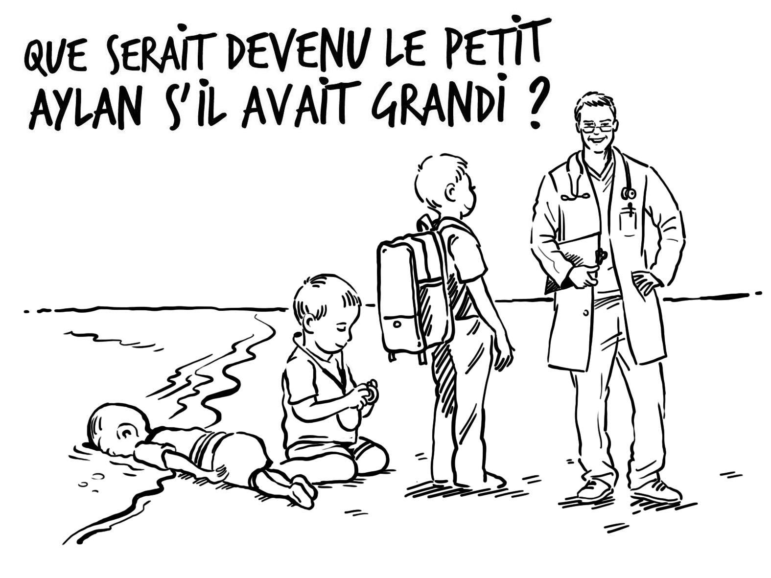 الرسم الكاريكاتيري باللغة الفرنسية