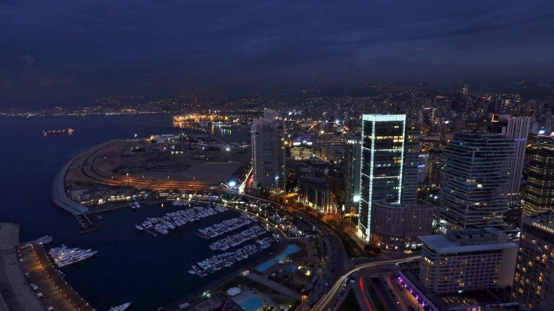 A general view of the Saint George Yacht Club in Beirut, Lebanon, Tuesday, Nov. 17, 2015. (AP Photo/Bilal Hussein)