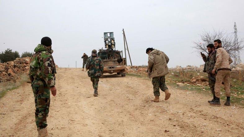 Fierce clashes as regime battles isis in aleppo al arabiya english - Regime 16 8 ...