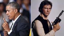 Presidential Star Wars: Obama sees a bit of 'rebel' Han Solo in himself