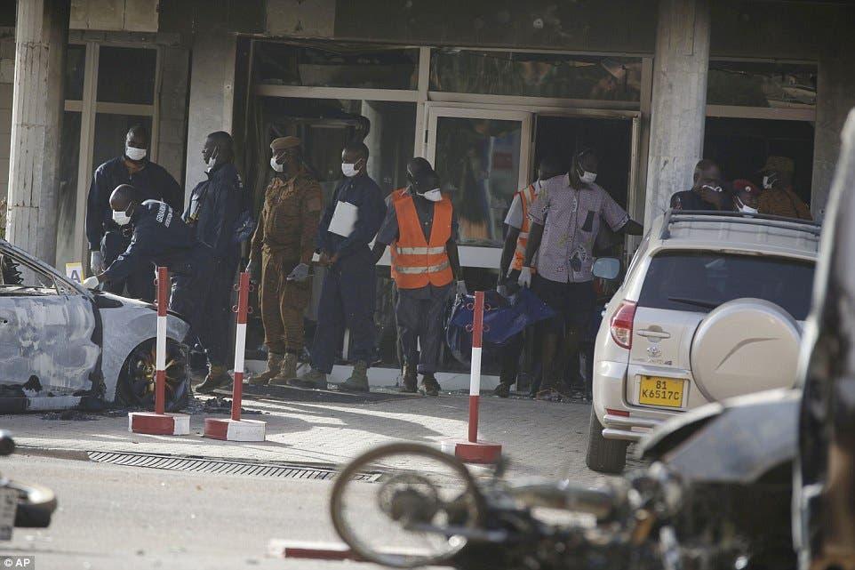 هجوم القاعدة في بوركينا فاسو