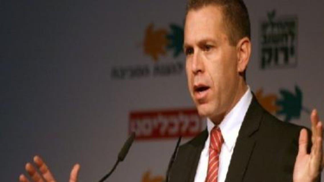 وزير الشؤون الاستراتيجية الإسرائيلي جلعاد إيردان
