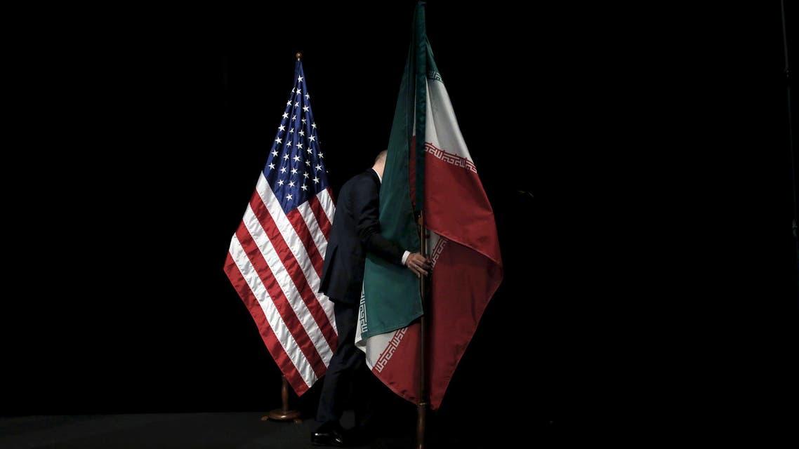 flag reuters iran us