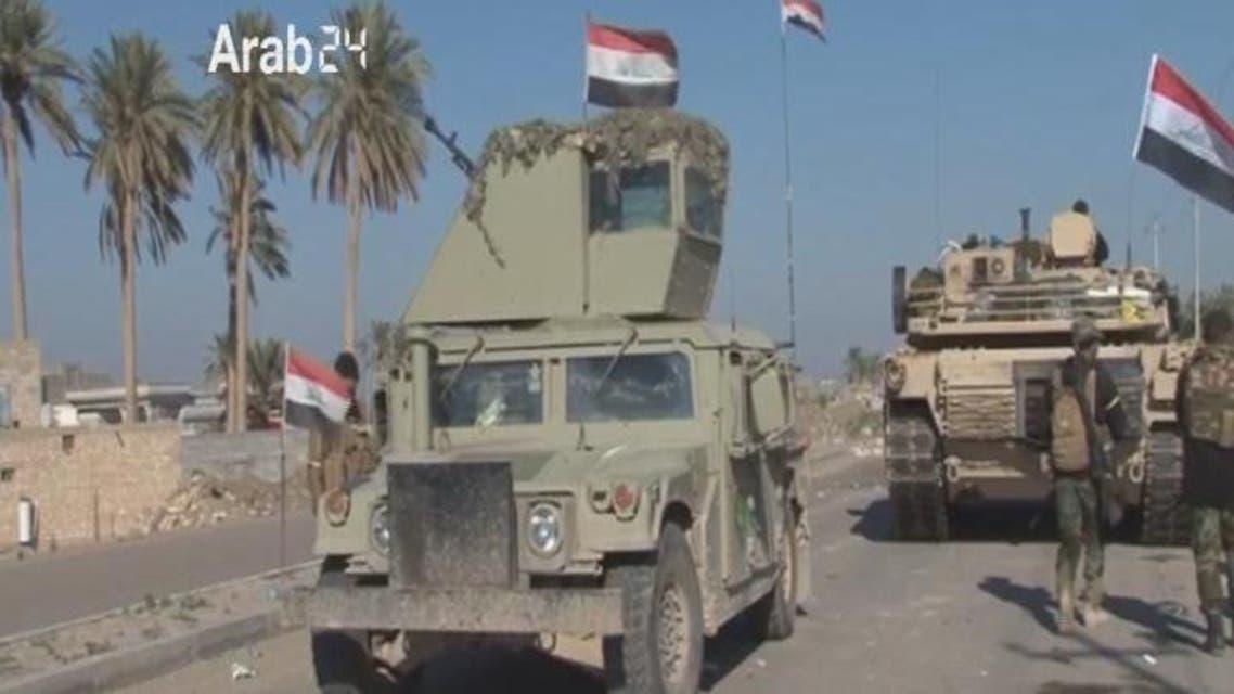 THUMBNAIL_ القوات العراقية تستعد للتوجه نحو #الفلوجة