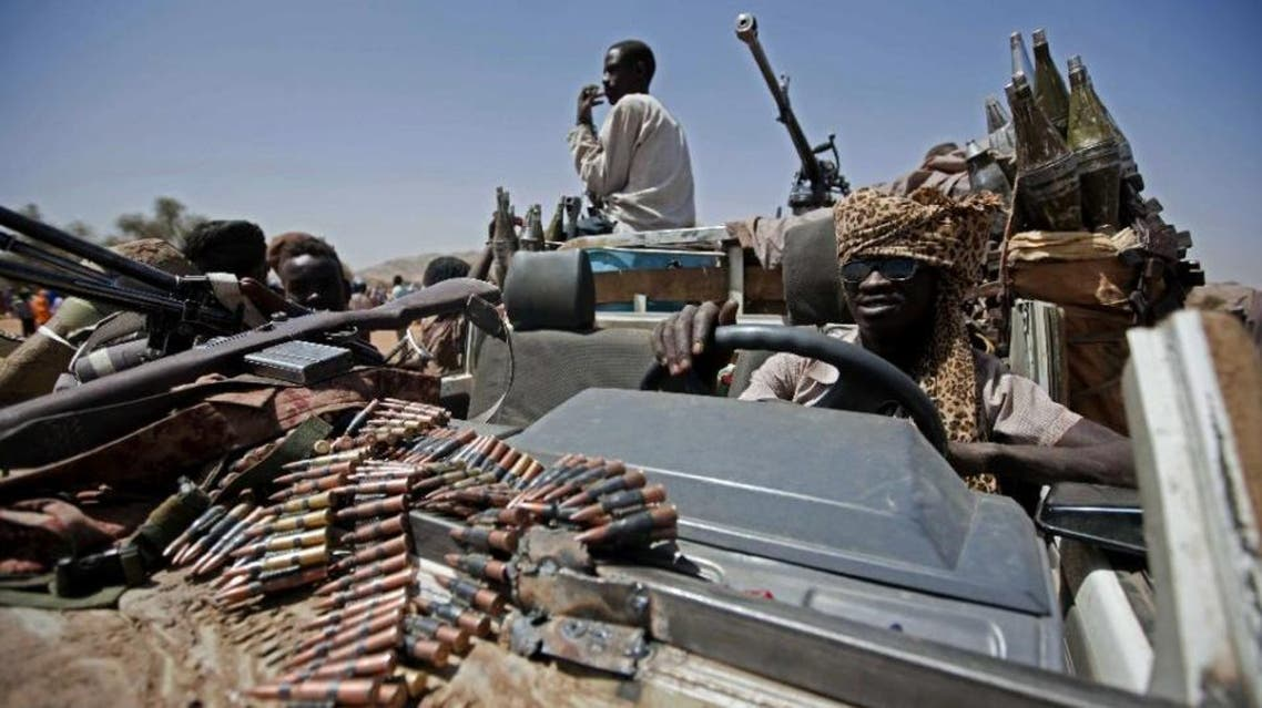 AFP - A picture released by the United Nations and African Union Mission in Darfur (UNAMID) shows a member of the coalition of rebel forces who control the village of Fanga Suk, in East Jebel Marra (West Darfur) on March 18, 2011 (AFP Photo