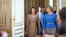 الملكة رانيا تلتقي في بروكسل ملكة بلجيكا