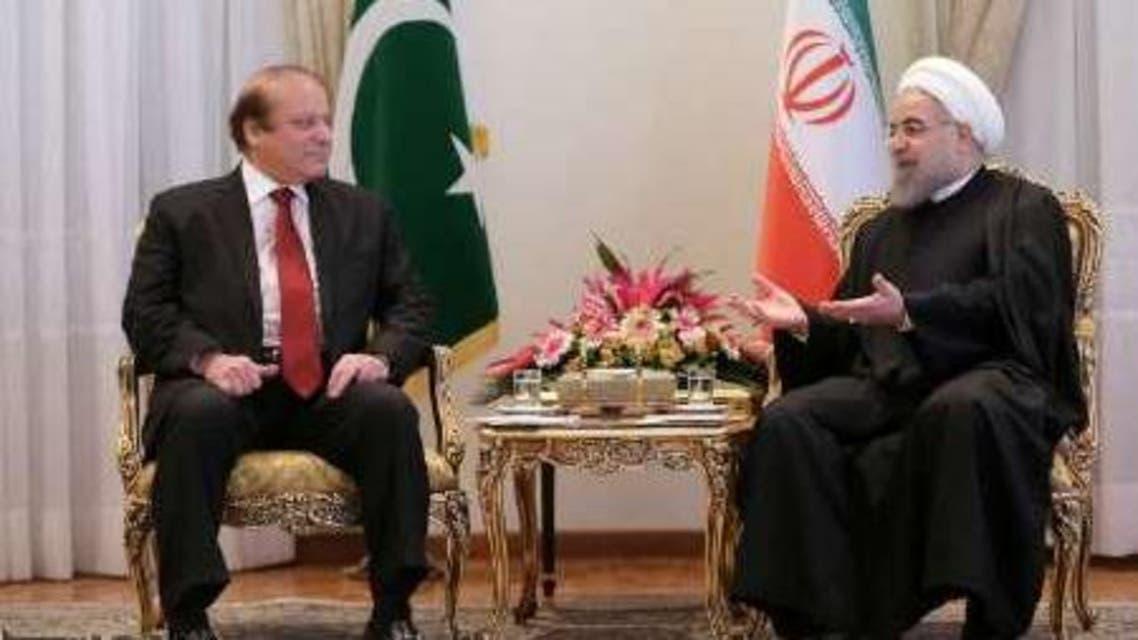 PM Nawaz Sharif and Hassan Rouhani