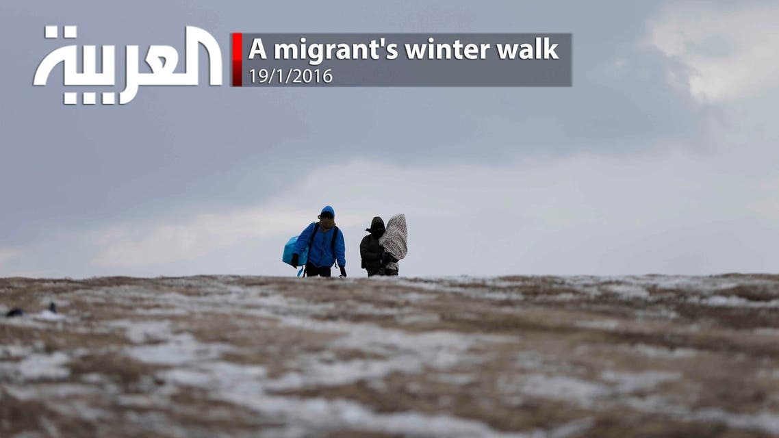 A migrant's winter walk