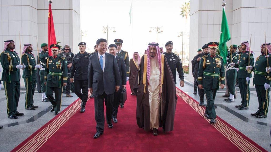 saudi king china REUTERS
