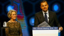 'Enough is enough!' Leonardo DiCaprio rips into Big Oil at Davos