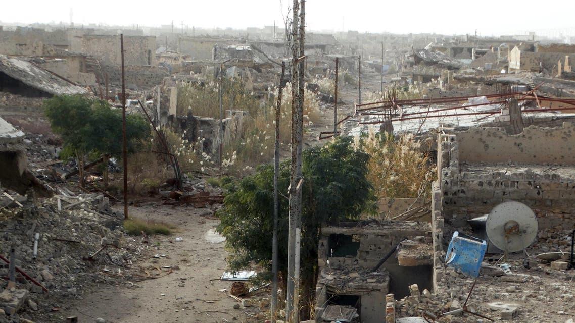 دمار في الرمادي جراء قصف وتفجير