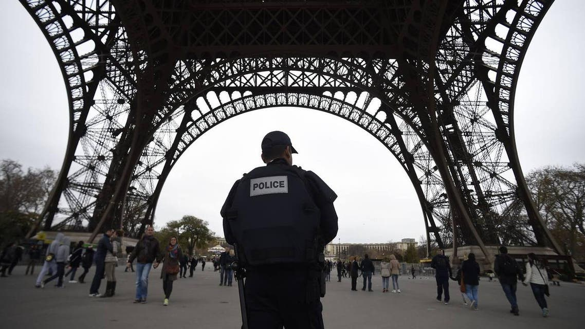 Police patrol in Paris on November 14, 2015, days after attacks that killed 130 people and sent shockwaves across the world. (File photo: AFP)