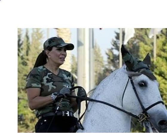 منال جدعان زوجة ماهر الأسد