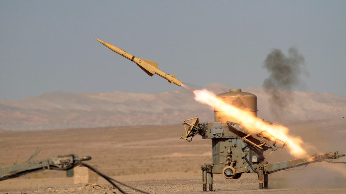 In this photo released by the Iranian army, a rapier missile launches during a war game outside the city of Semnan about 140 miles east of the capital Tehran, Iran, Wednesday, Nov. 17, 2010. (AP)