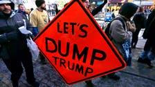 U.S. celebrities back 'dump trump' campaign