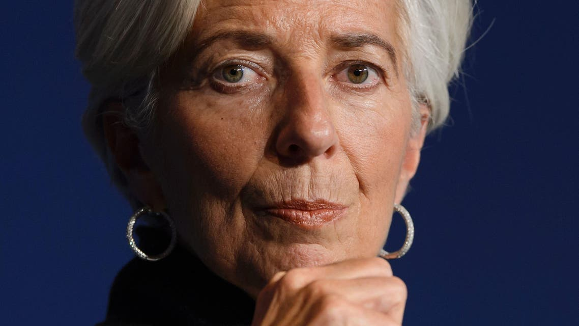 International Monetary Fund (IMF) Managing Director Christine Lagarde looks on during a session at the World Economic Forum (WEF) annual meeting in Davos, on January 20, 2016. AFP