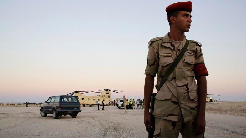 Egypt says 16 suspected militants killed in Sinai - Al Arabiya English