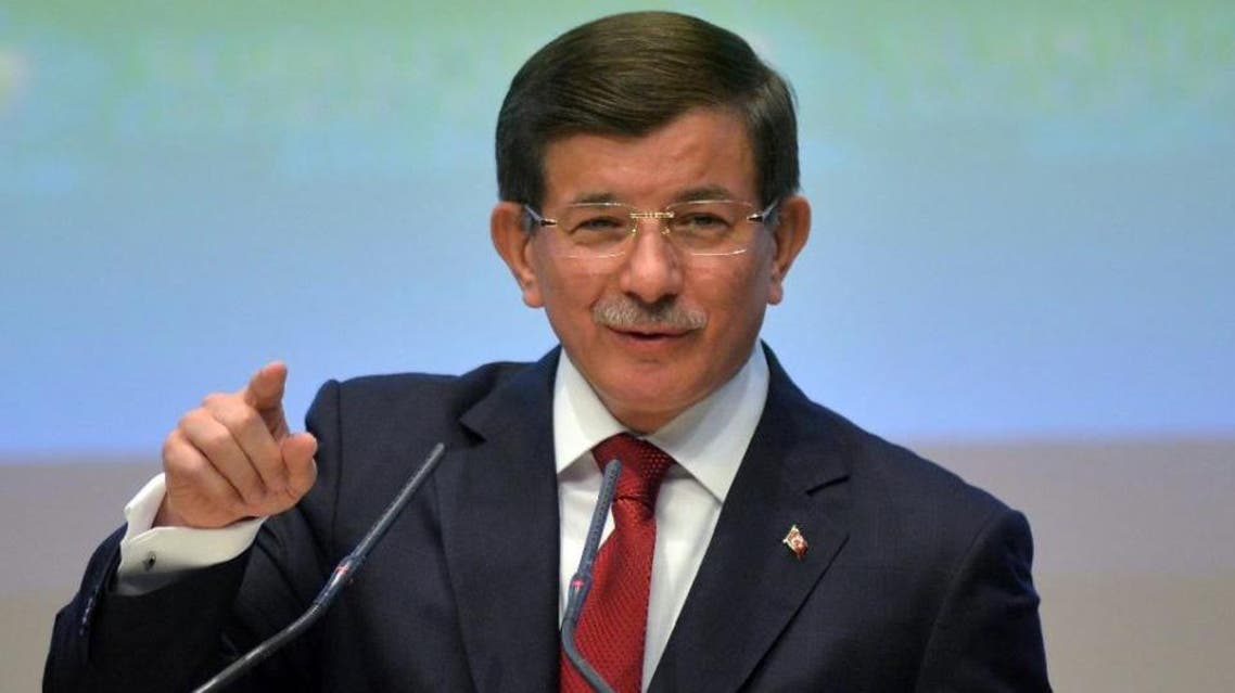 Speaking at the World Economic Forum in Davos, Davutoglu backed that position by the council, saying it alone should decide who represents the Syrian opposition at the Geneva talks (File Photo: AFP)