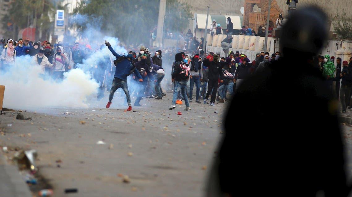 تونس القصرين احتجاجات بطالة